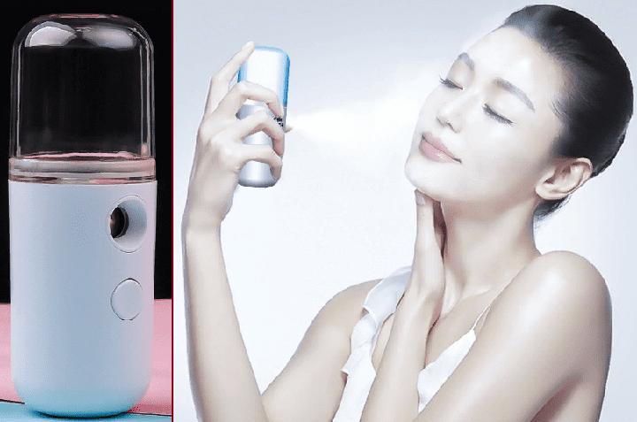 увлажняющий спрей для лица, прибор увлажнитель для кожи