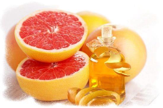 натуральное масло грейпфрута для проведения массажа