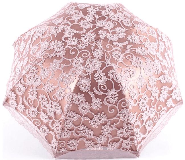летний кружевной зонт