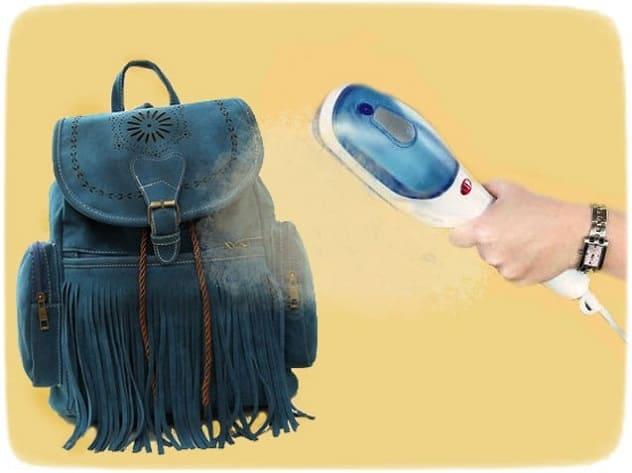 как почистить замшевый рюкзак или сумку