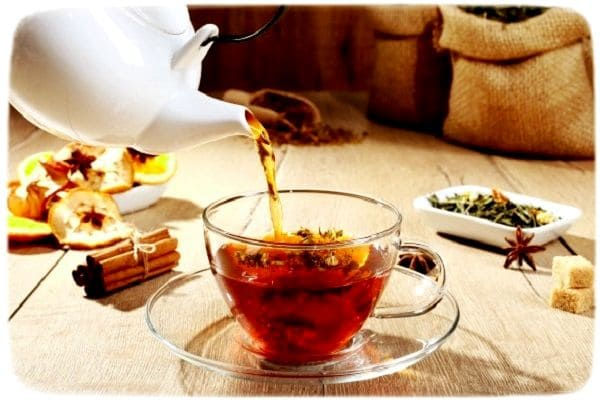 согревающий осенний чай