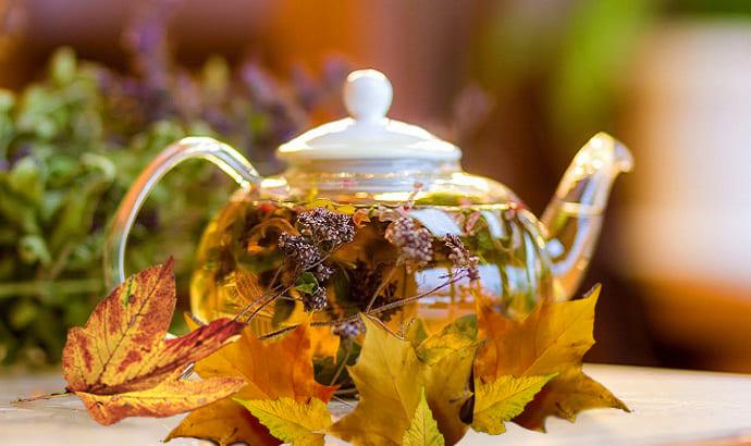 осенние вечера с чаем