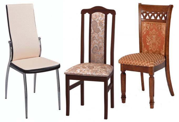 виды стульев для кухни