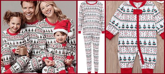 семейные пижамы с Алиэкспресс