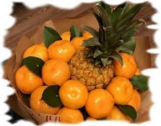 салат на новый год с ананасами и мандаринами