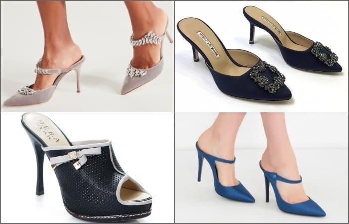 открытая женская обувь