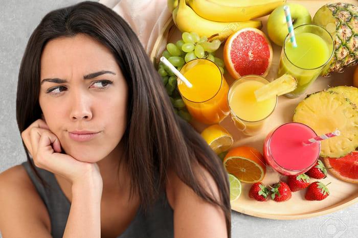 скрытые враги фигуры, вред фруктовых соков
