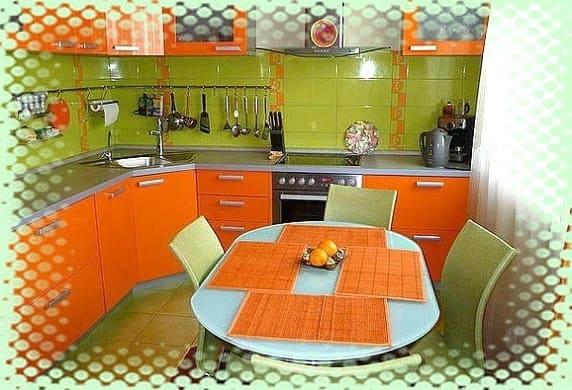 зеленые кухонные стулья