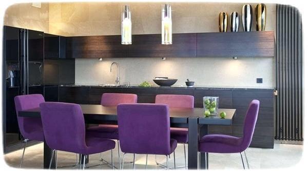 цветные кухонные стулья
