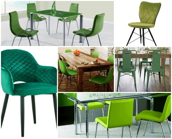 яркие стулья для кухни