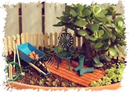 роскошный мини-сад