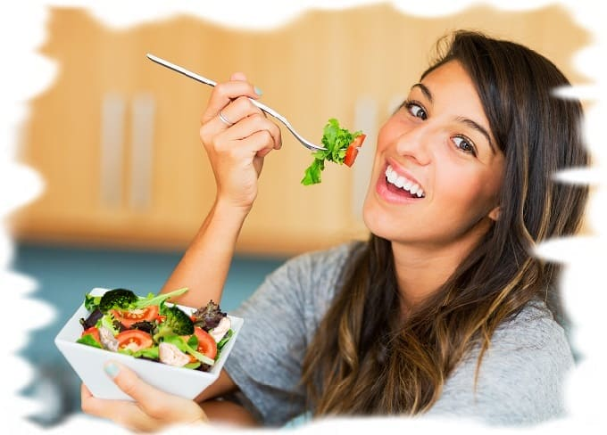 салаты для тех, кто на диете