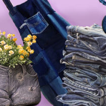 поделки из старых джинс