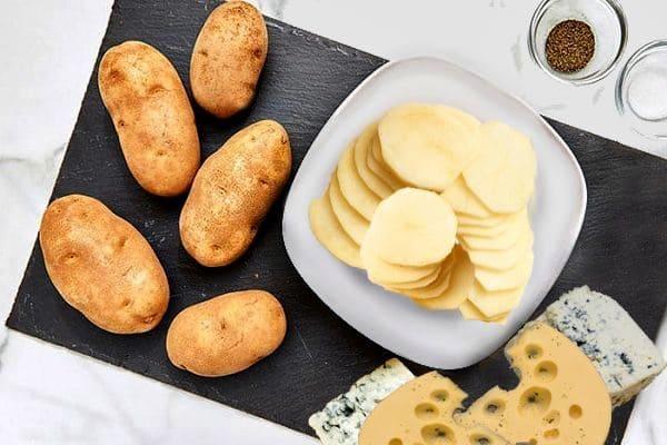 картофельная запеканка с сыром, приготовление картофельной запеканки
