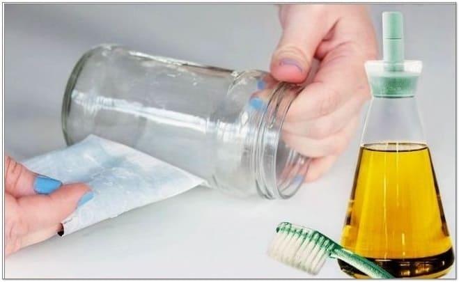 как убрать клей от этикетки, как отмыть клей от этикетки