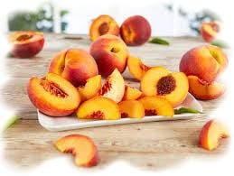 персиковые десерты, сочные персики