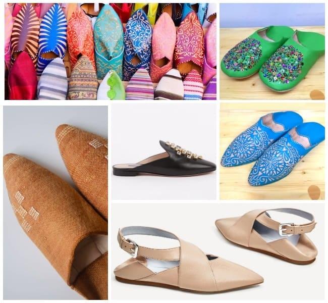 бабуши, модная обувь