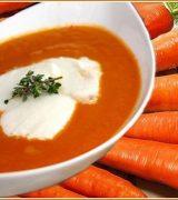 морковный суп-пюре, суп-пюре из овощей
