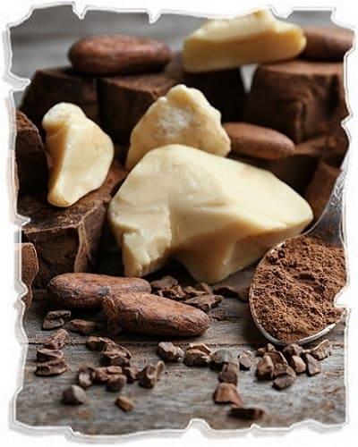 масло какао в уходе за кожей век