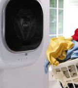 техника для маленькой квартиры, техника для тесного жилья, мини-стиральная машина