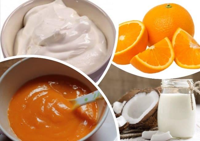суп-пюре из моркови с апельсином