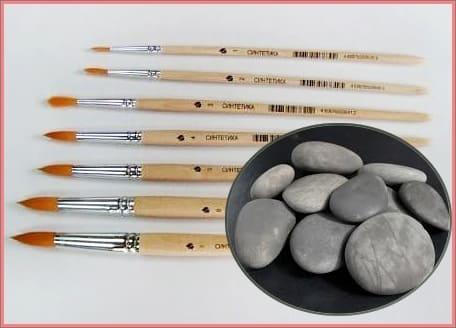 инструменты для расписывания камней