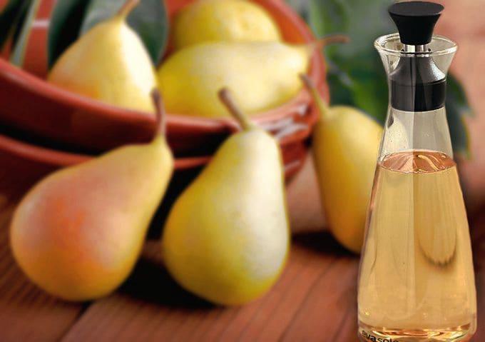 домашний фруктовый уксус, уксус из груш