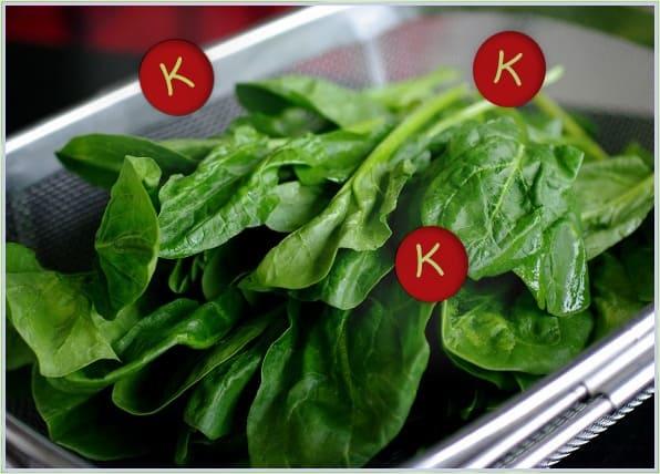 пищевые источники витамина K