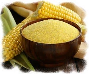 блюда из кукурузной каши, остатки кукурузной каши