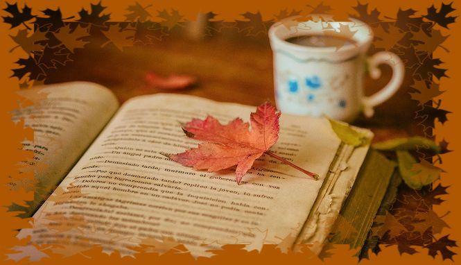 книги под осеннее настроение, осенние книги