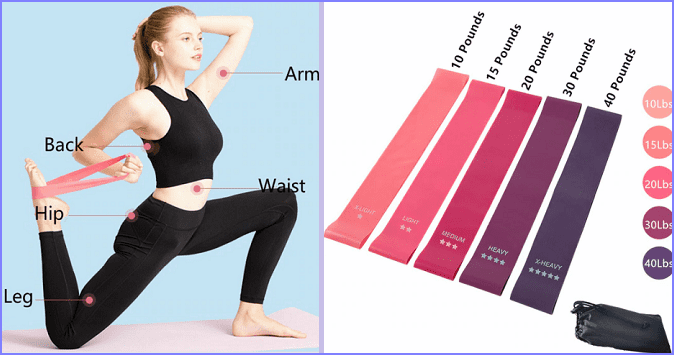 фитнес-лента, полезные товары с Алиэкспресс