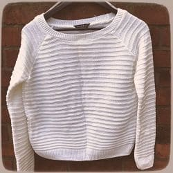 как уменьшить свитер