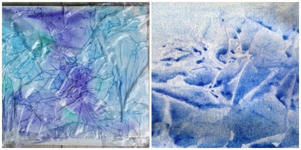 зимние рисунки, зимнее рисование
