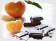 домашние тарталетки с шоколадом и цитрусом