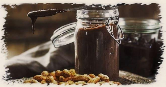 шоколадная паста с арахисом