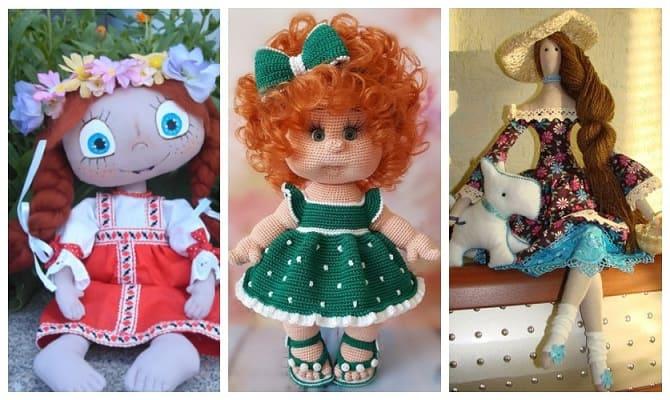 кукла в подарок на 8 марта