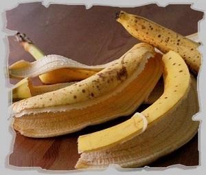 кожура банана как натуральное удобрение для комнатных цветов