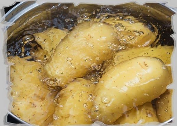 картофельный отвар как подкормка для домашних растений