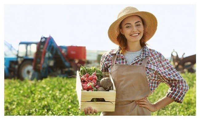 локаворизм, фермер, фермерский урожай