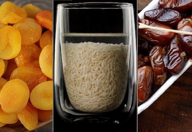 рис с курагой и финиками