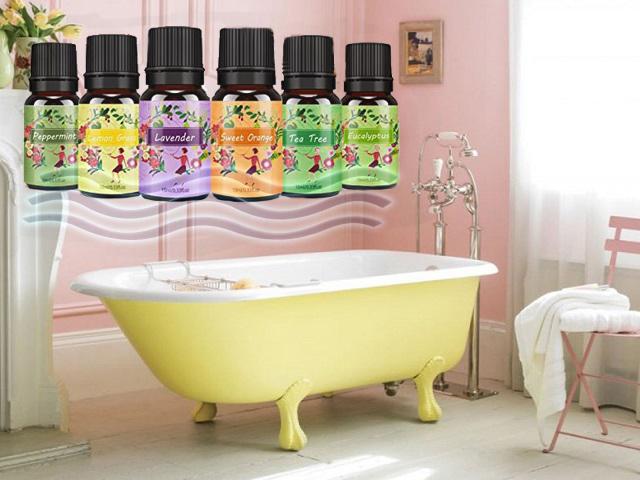 ванна с эфирными маслами, масла для купания