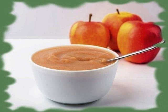 десерты из яблочного пюре