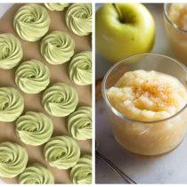 зефир из яблочного пюре