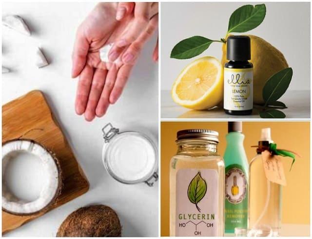 кокосовое масло для ногтей и кожи рук