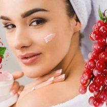 домашний летний крем для лица. косметика из ягод