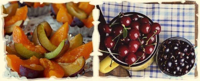 летний салат с ягодами