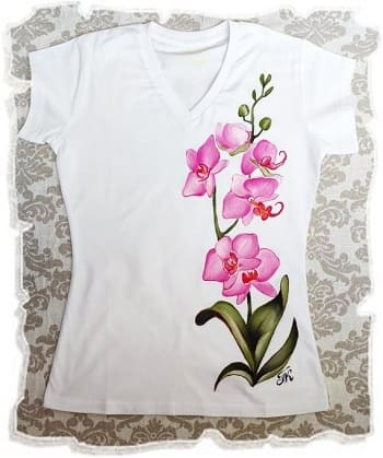 красивый рисунок на футболке