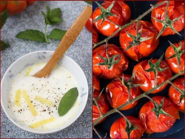 холодный суп с томатами