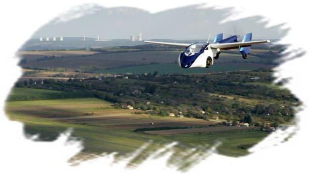 летающая машина аэромобиль