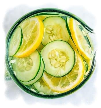 рецепт огуречного лосьона с лимоном